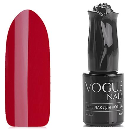 Vogue Nails, Гель-лак Зимняя вишня, 10 мл