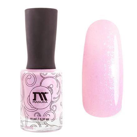 Masura, Лак для ногтей «Золотая коллекция», Selena, 11 млMasura<br>Лак (11 мл) пастельный розовый, с голубым микрошиммером, плотный.