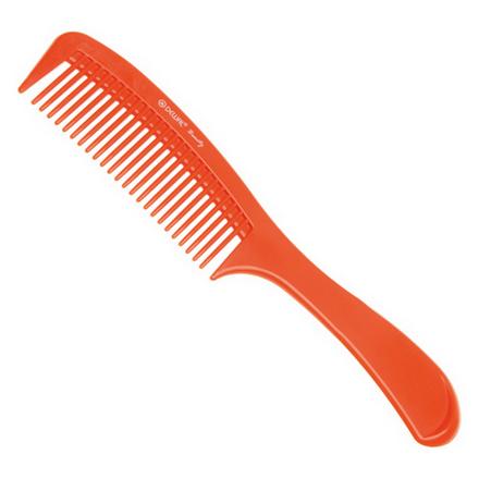 Dewal, Расческа с ручкой, оранжевая, 22 см  - Купить