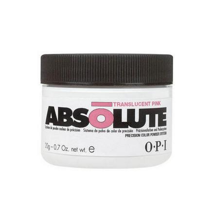 OPI, Акриловая пудра Absolute, прозрачная розовая, 20 г  - Купить