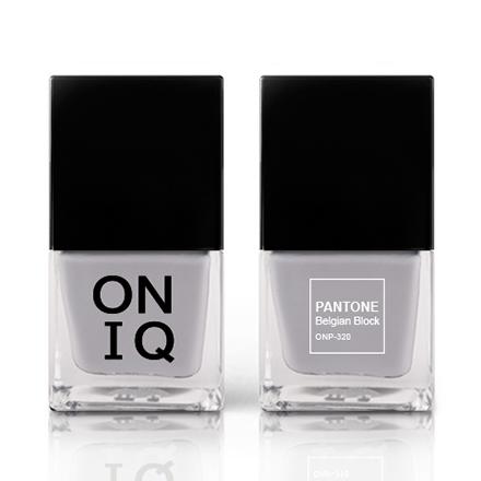 Купить ONIQ, Лак для ногтей Pantone, Belgian Block, Черный