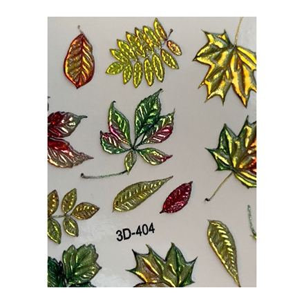 AnnaTkacheva,3D-слайдерCrystal№404 «Осень. Листья» фото