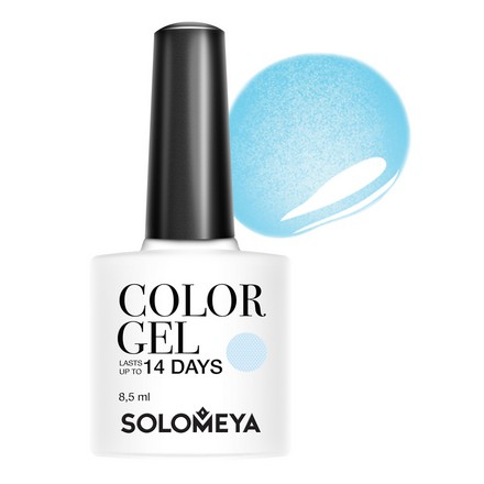 Купить Solomeya, Гель-лак №80, Paradise bird, Wella Professionals, Синий