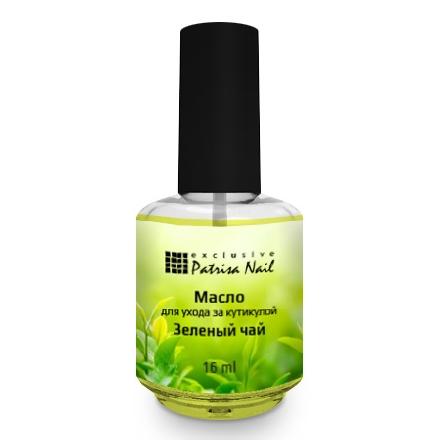 Купить Patrisa Nail, Масло для кутикулы «Зеленый чай», 16 мл