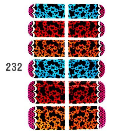 IRISK, Клеевое лаковое покрытие Effect Nails №232Арт-стикеры<br>Покрытие для экспресс-маникюра.<br>