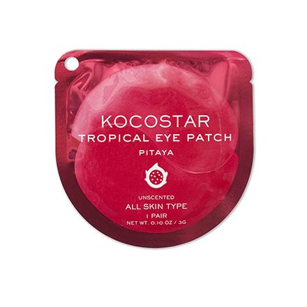 Купить Kocostar, Гидрогелевые патчи для глаз Tropical, питахайя, 1 пара