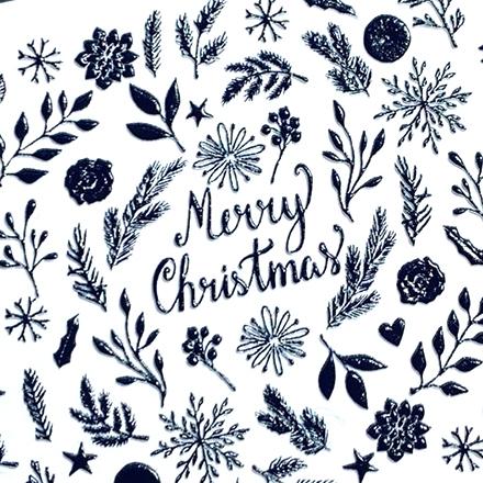 Купить AnnaTkacheva, 3Dслайдер№101, черный «Зима. Новый год», Anna Tkacheva