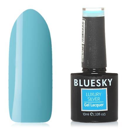Bluesky, Гель-лак Luxury Silver №314