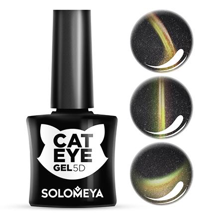 Купить Solomeya, Гель-лак Cat Eye 5D, Maine Coon, Wella Professionals, Черный
