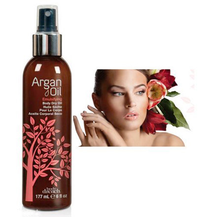 BodyDrench Argan Oil Emulsifying Dry Oil, 177 мл.