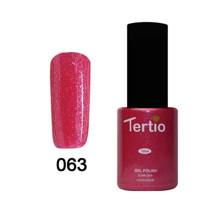 Tertio, Гель-лак Eco Line №63