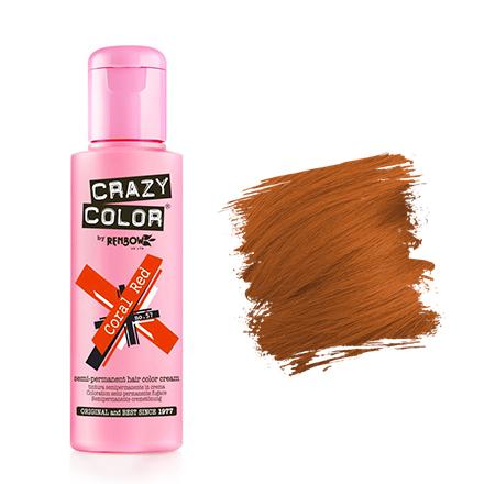Купить Crazy Color, Краска для волос №57, Coral Red, Wella Professionals