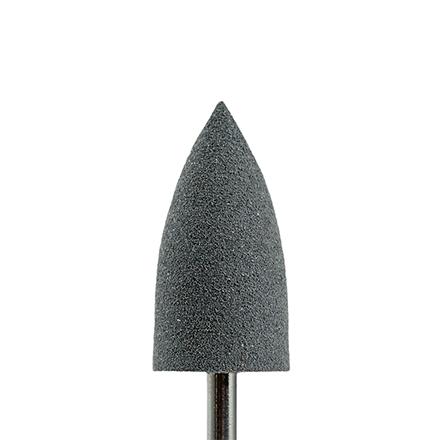 Muhle Manikure, Полировщик силикон-карбидный «Конус» 10х20 мм, грубыйНасадки<br>Насадка для обработки утолщенных ногтей, шлифовки мозолей.
