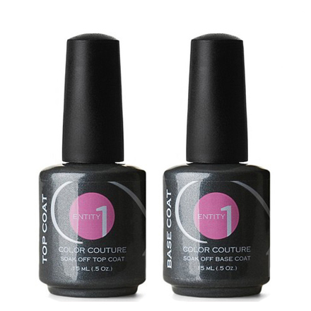 Entity, набор Base Coat+Top Coat, 15 мл