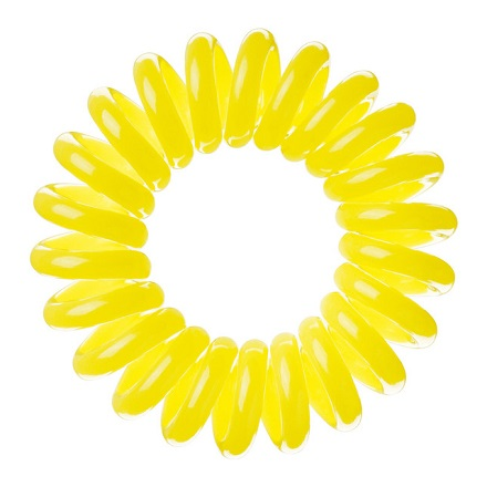 Invisibobble, Резинка для волос Submarine Yellow (3 шт.), желтая invisibobble резинка для волос кораллового цвета original fancy flamingo 3 шт резинка для волос кораллового цвета original fancy flamingo 3 шт 3 шт уп