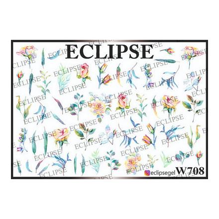 Купить Eclipse, Слайдер-дизайн для ногтей W №708