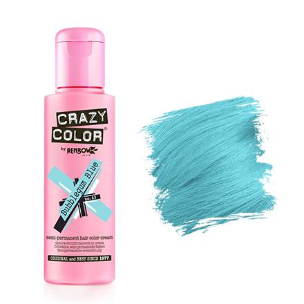 Crazy Color, Краска для волос №63, Bubblegum Blue