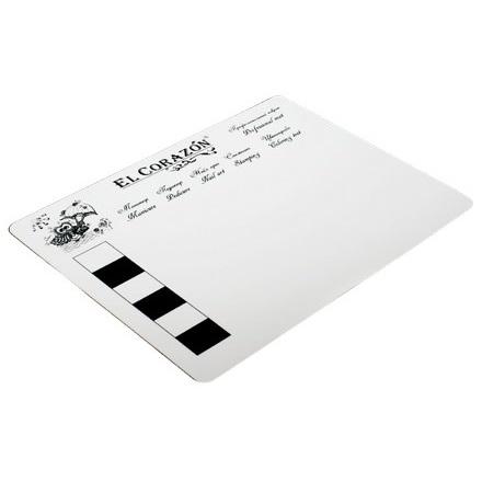 El Corazon, Коврик для дизайна № mat-13, белый