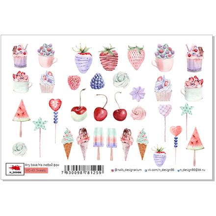 Купить N-DESIGN, Слайдер-дизайн WC-43, Sweets