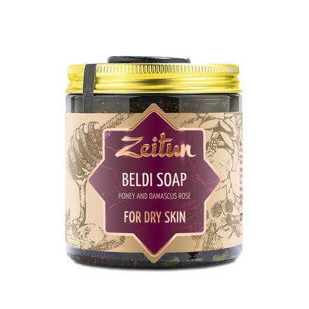 Zeitun, Мыло «Бельди №3», с дамасской розой, 250 мл zeitun мыло бельди 3 с дамасской розой 250 мл