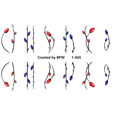 Купить BPW.Style, Слайдер-дизайн «Цветы» №1-665