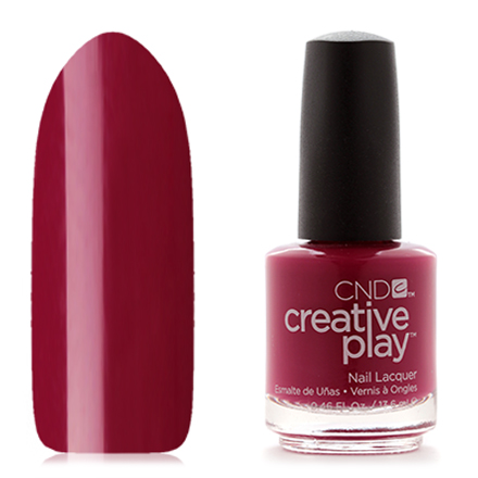 CND Creative Play, цвет Berry Busy, 13,6 мл cnd лосьон creative scentsations wildflower