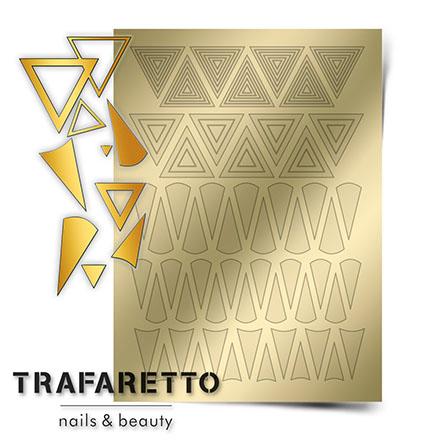 Купить Trafaretto, Металлизированные наклейки GM-04, золото