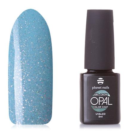 Купить Planet Nails, Гель-лак Opal №864, Синий