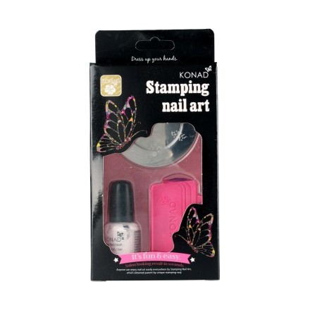 Konad, набор для стемпинга Stamping Set konad gold set