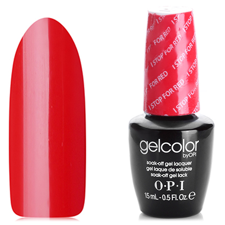 OPI GelColor, цвет I Stop for Red GCA74