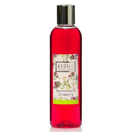 Купить Aroma Home & Spa Therapy, Гель для душа Strawberry, 260 мл