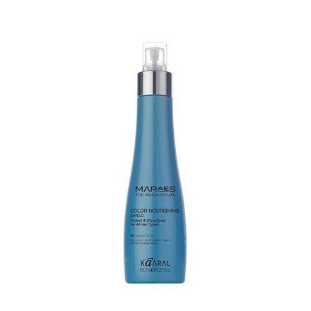 Kaaral, Защитное средство Maraes Color nourishing shield, 150 млСпреи для волос <br>Микроэмульсия с лечебными маслами защищает волосы от агрессивного воздействия окружающей среды и свободных радикалов.