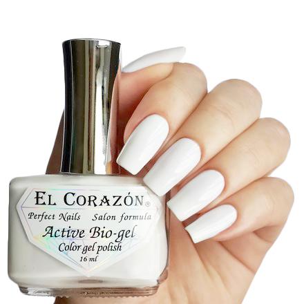 Купить El Corazon Лечебная Серия Цветной Биогель, № 423/290, Белый