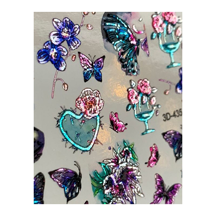 AnnaTkacheva,3D-слайдерCrystal№435 «Цветы. Цветочки» фото