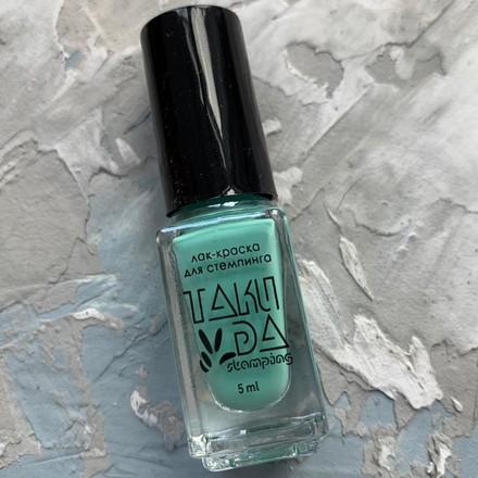 Купить TakiDa, Лак для стемпинга №072, Зеленый
