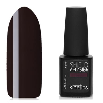 Kinetics, Гель-лак Shield №396, So much and moreKinetics<br>Гель-лак (11 мл) темный бордово-фиолетовый, без перламутра и блесток, плотный.