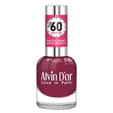 Купить Alvin D'or, Лак «60 секунд» №34, Бордовый