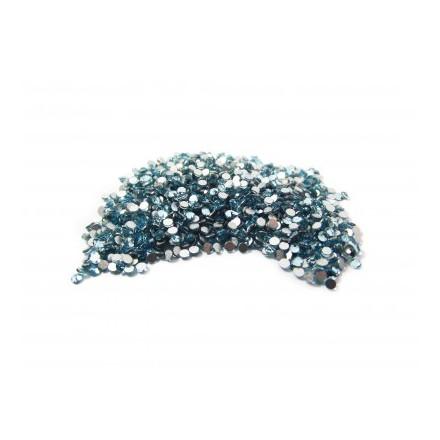 Купить TNL, Стразы 1, 5 мм голубые, 50 шт., TNL Professional
