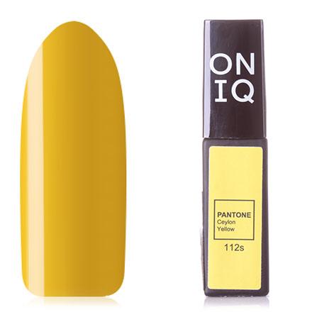 Купить ONIQ, Гель-лак Pantone №112s, Ceylon Yellow, Зеленый