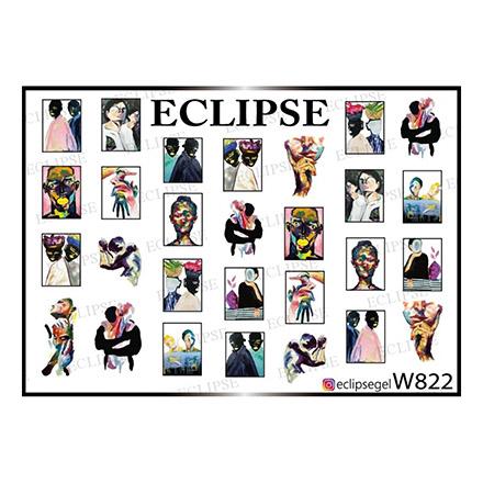 Купить Eclipse, Слайдер-дизайн для ногтей W №822