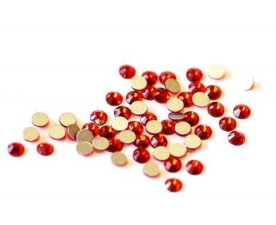 TNL, Стразы 2 мм красные, 50 шт.