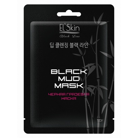Skinlite, Маска черная грязевая Black Mud Mask,10 г