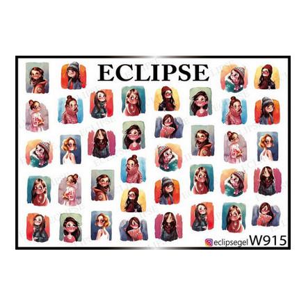 Купить Eclipse, Слайдер-дизайн для ногтей W №915