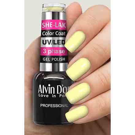 Купить Alvin D'or, Гель-лак №3575, Желтый