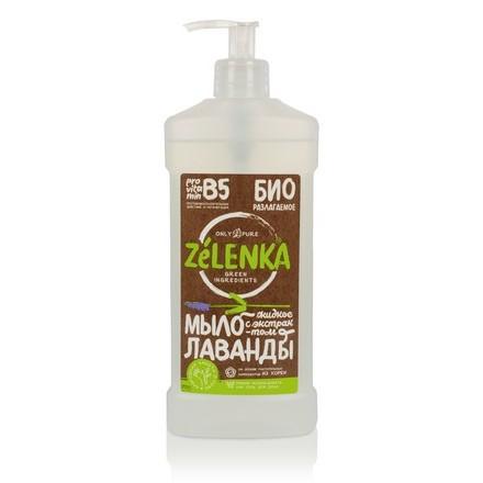 Купить ZELENKA, Жидкое мыло с экстрактом лаванды, 500 мл