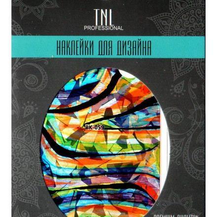 TNL, Наклейка-фольга Premium Quality BK-059