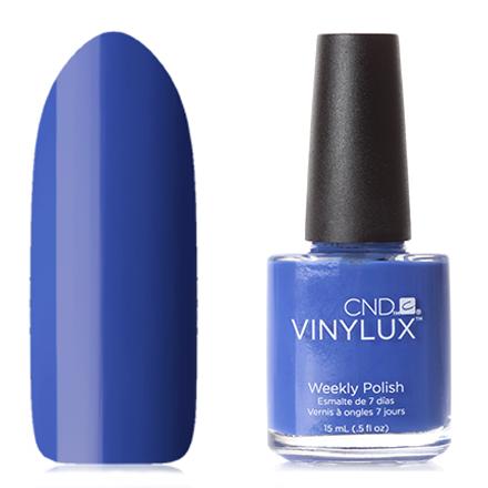 CND Vinylux, цвет 238 Blue Eyeshadow cnd vinylux цвет 151 studio white