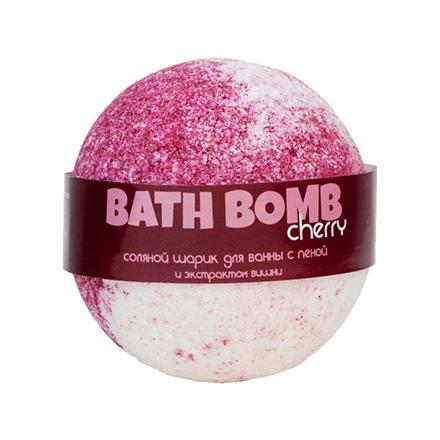 Купить Savonry, Бурлящий шарик с пеной для ванны Cherry, 100 г