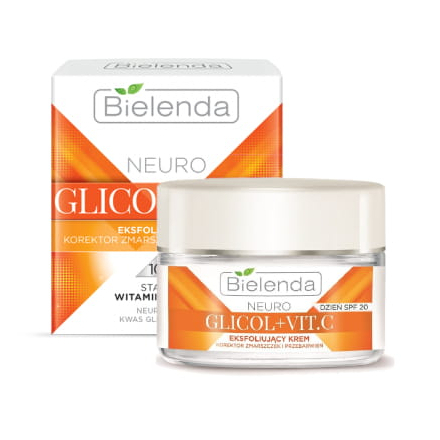 Купить Bielenda, Крем для лица Glicol + Vit.C, 50 мл