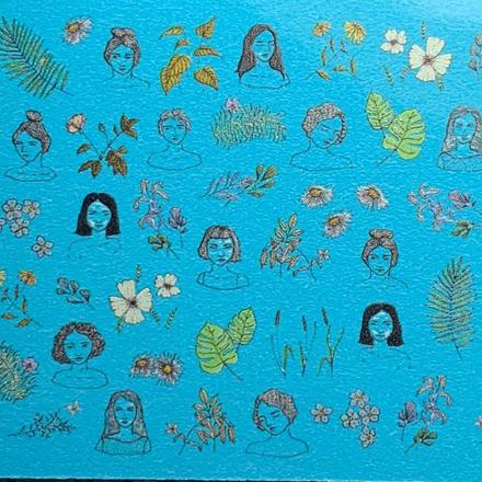 Anna Tkacheva, Cлайдер SM №38 «Девушки. Цветы» фото